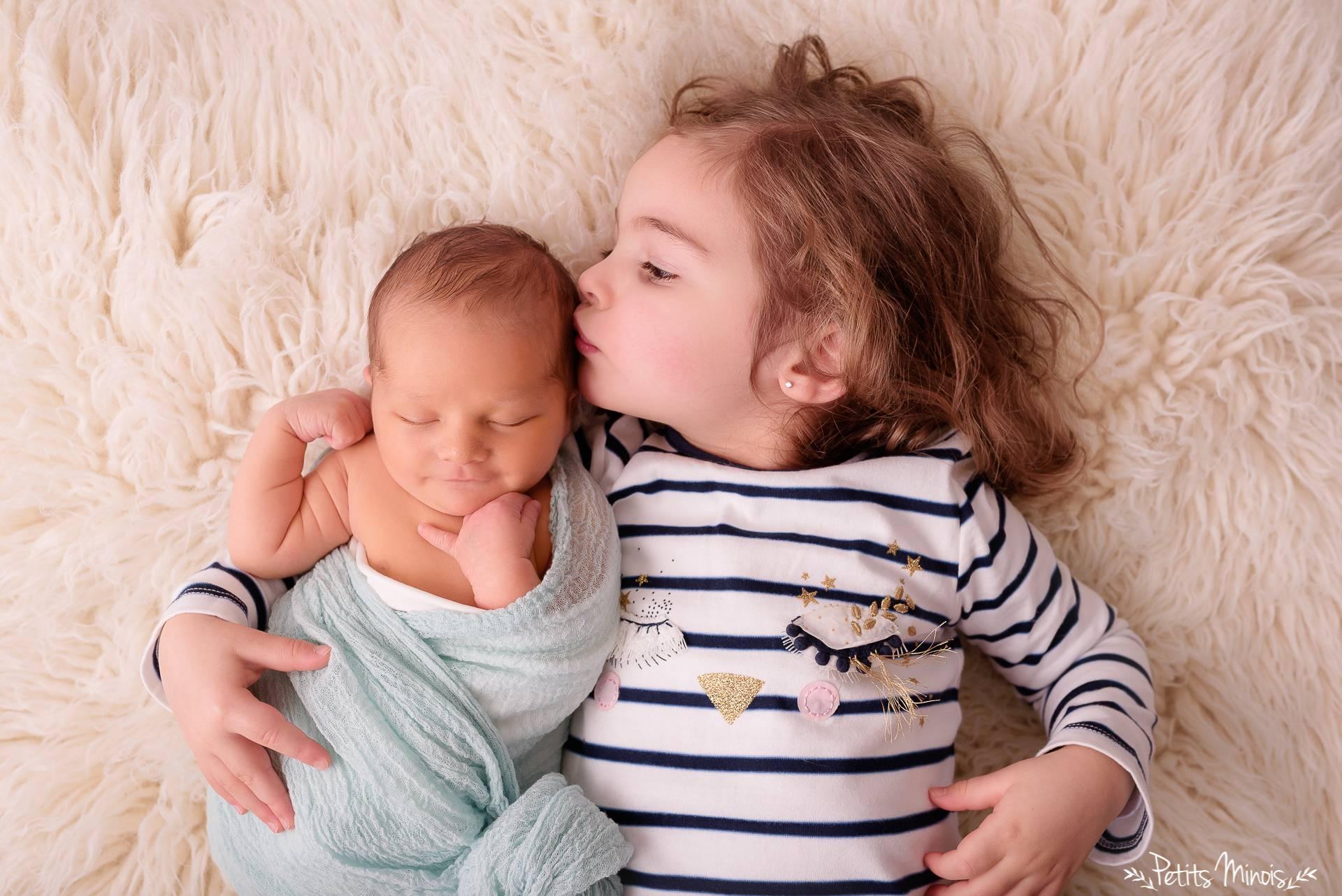 séance nouveau-né Petits Minois photographe brest